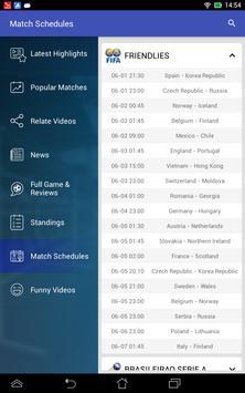 Live Football Soccer HiLights screenshot 4