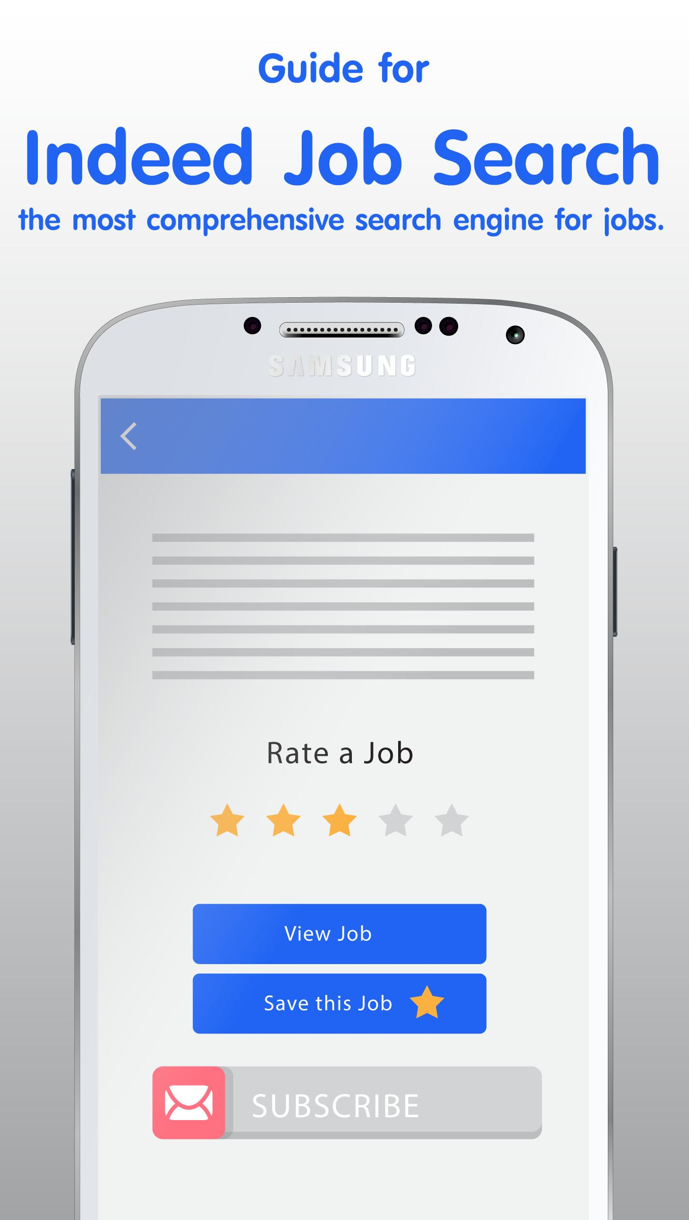 Free Indeed Job Search Tips for Android - APK Download