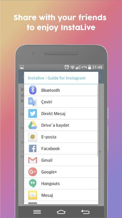 LiveInsta for Instagram Live for Android - APK Download