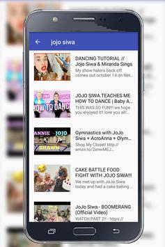 Jojo Siwa music video - Free MP3 music for youtube for Android - APK