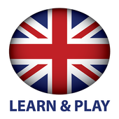 Learn and play. English words - vocabulary & games icon