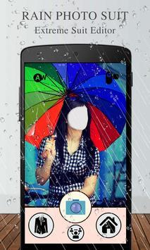 Rain Photo Suit Editor screenshot 2