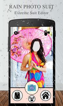 Rain Photo Suit Editor poster