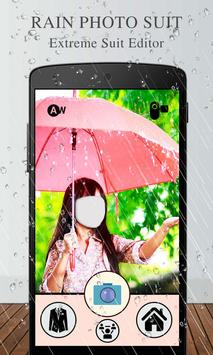 Rain Photo Suit Editor screenshot 1