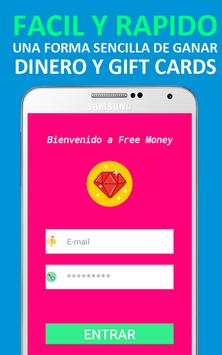 Ganar Dinero y Gift Cards Gratis - Free Fast Money screenshot 4