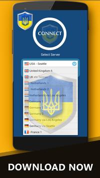 Free VPN Ukraine apk screenshot