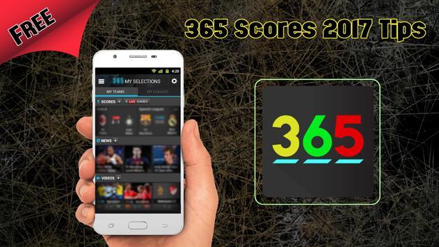 Free 365Scores 2017 Tips apk screenshot