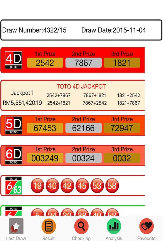 Jackpot 4d 5d 6d lucky numbers apk download | apkpure. Co.