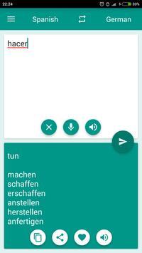 2 Schermata German-Spanish Translator