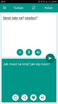 Polish-Turkish Translator poster
