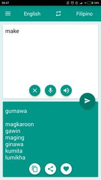 Filipino-English Translator screenshot 2