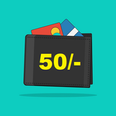 Free RS 50 Recharge icon