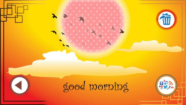 Good Morning Wish Photo Frame apk screenshot