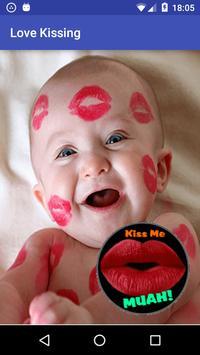 Love kissing poster
