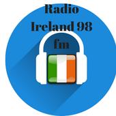 radio ireland 98 fm rock alternative free online icon