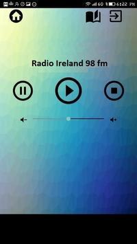 radio ireland 98 fm rock alternative free online poster