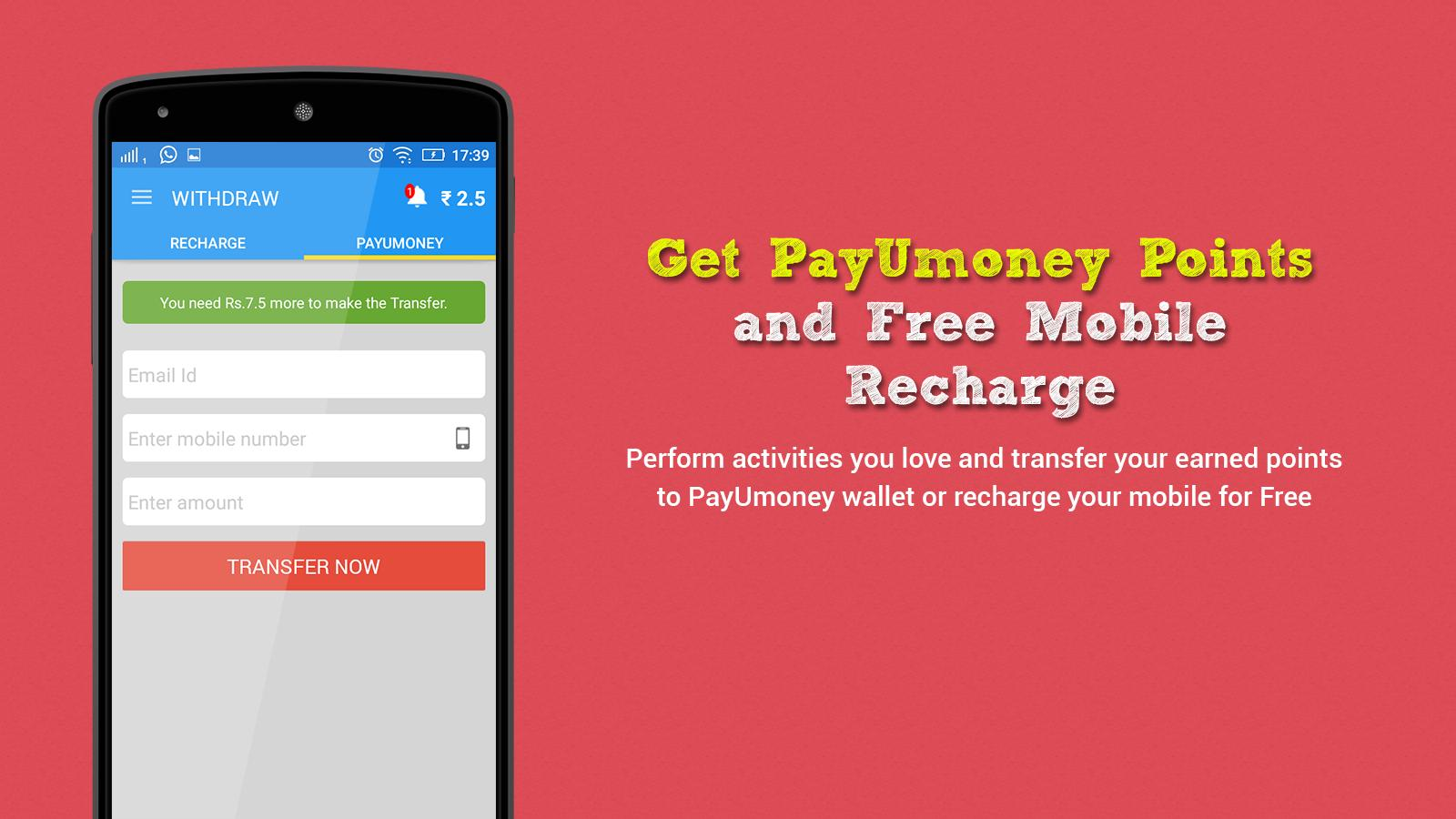 Free Buster - Mobile Recharge for Android - APK Download
