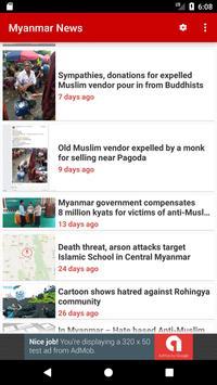 Myanmar News apk screenshot