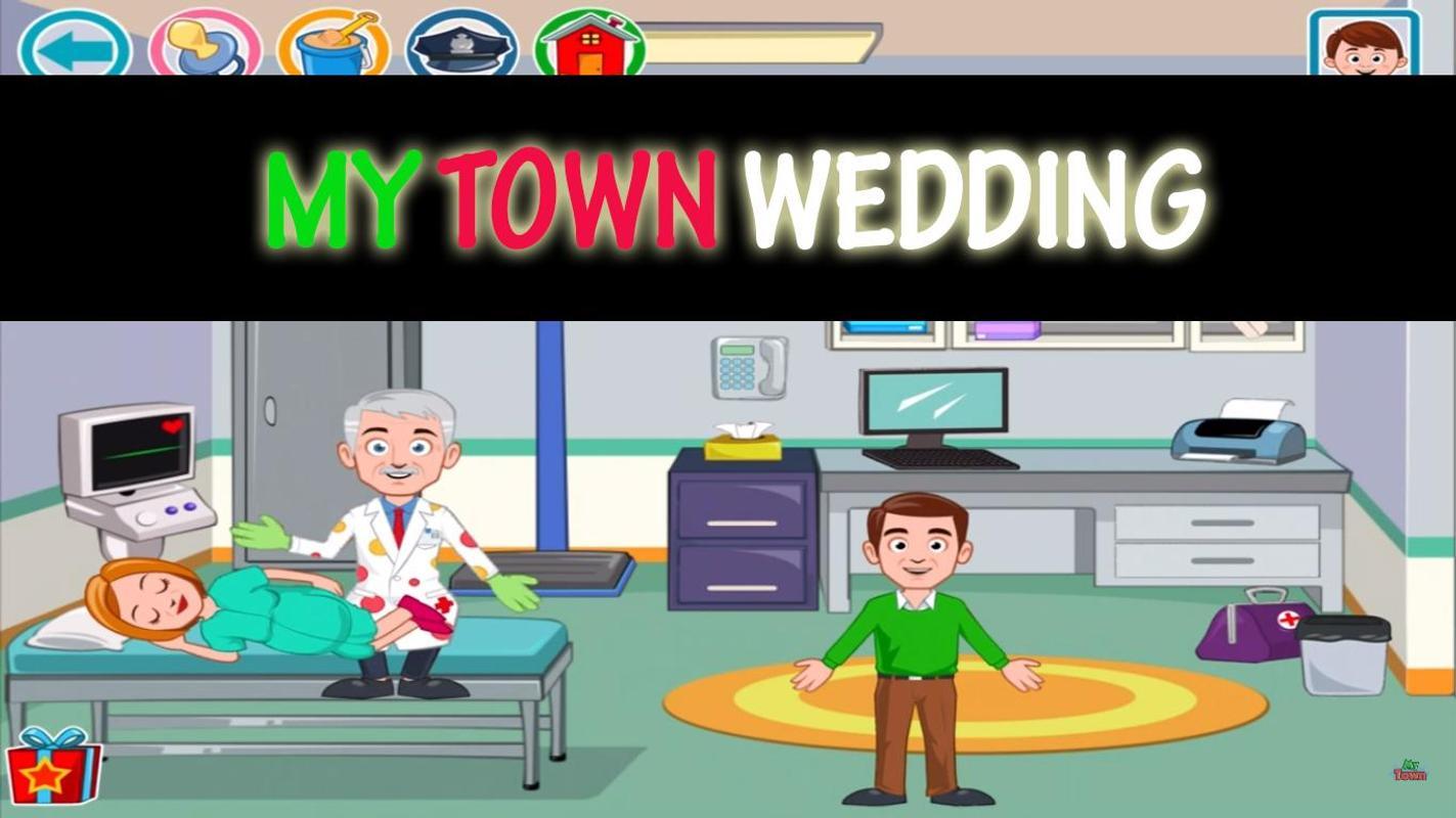 download game my town wedding mod apk