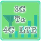 3G To 4G LTE converter - prank icon