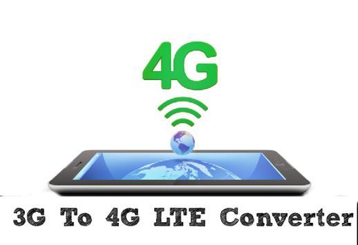 3G To 4G LTE converter - prank poster