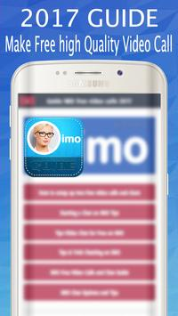 💕Free imo video calls and chat Guide poster
