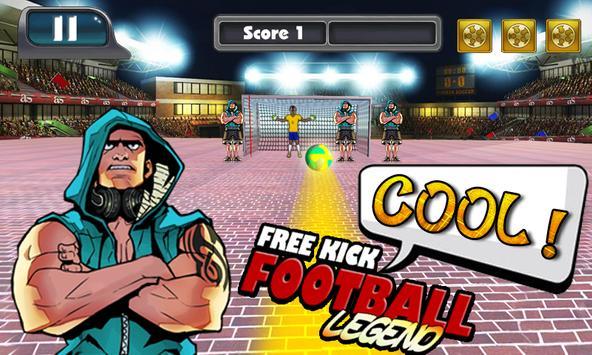 Free Kick Football Kickoff apk screenshot