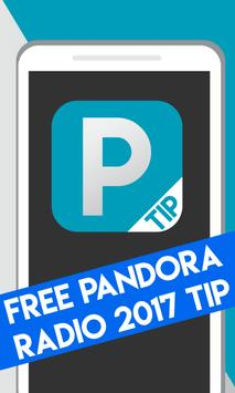 Free Pandora Radio 2017 Tip poster