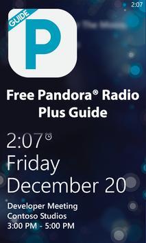 Free Pandora® Radio Plus Guide apk screenshot