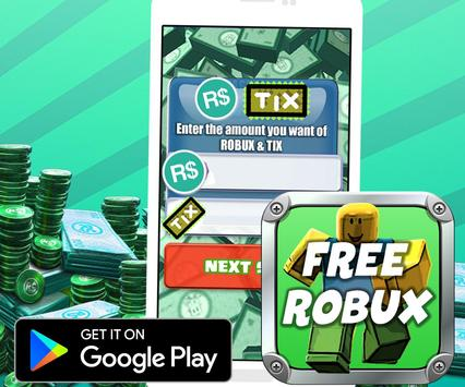 ROBUX FREE Generator for Roblox - PRANK apk screenshot