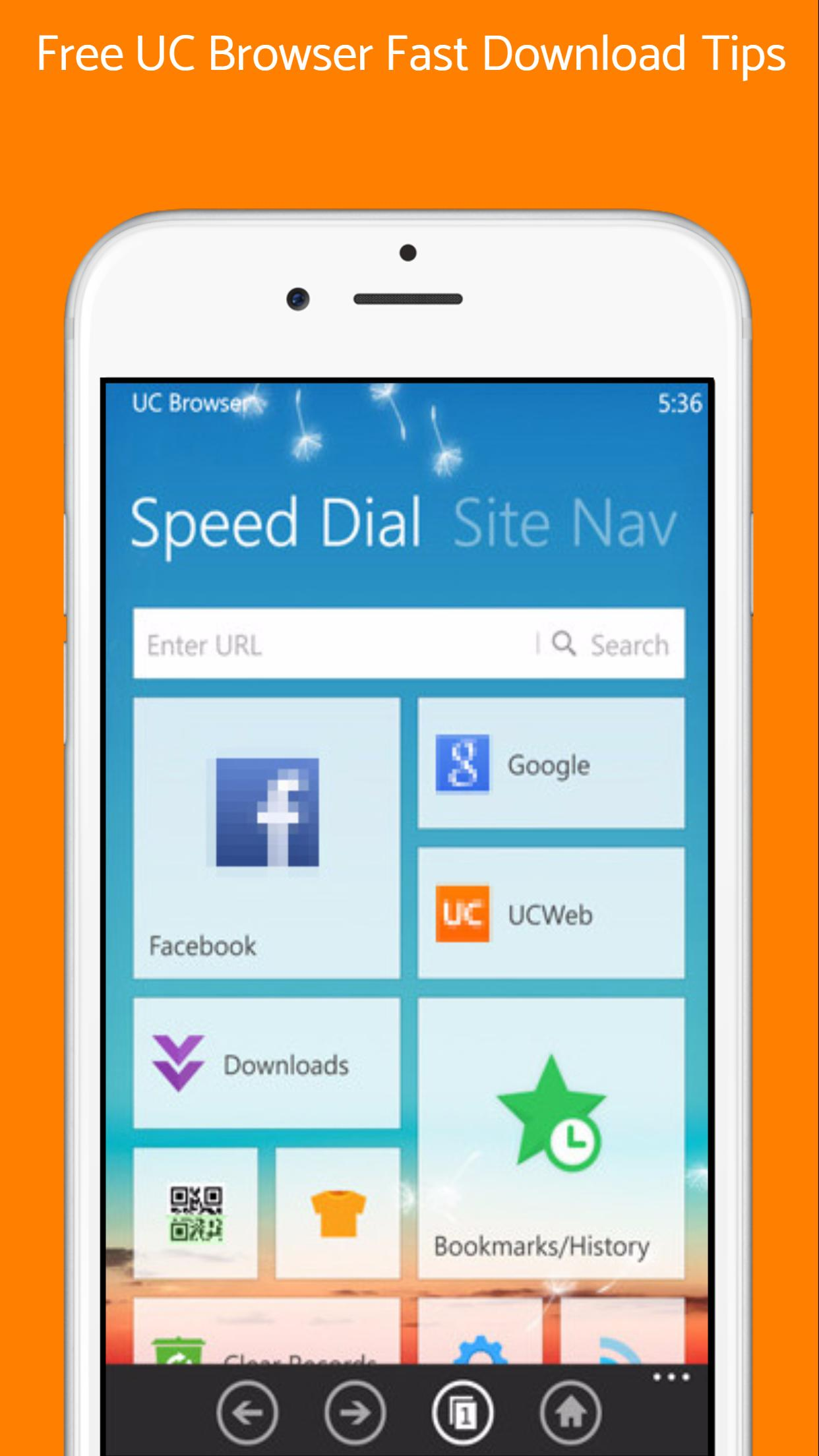 Free UC Browser Fast Download Tips for Android - APK Download