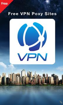 Free VPN Proxy Sites poster