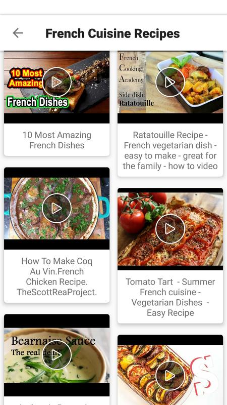 French food recipes videos easy best healthy apk download free french food recipes videos easy best healthy apk screenshot forumfinder Image collections