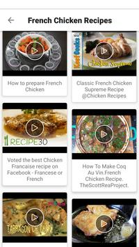 French Food Recipes VIDEOS : Easy, Best, Healthy apk screenshot