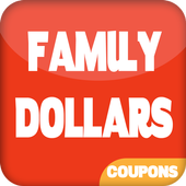 Coupons for Family Dollar icon