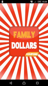 Coupons for Family Dollar poster