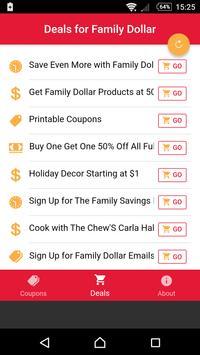 Coupons for Family Dollar screenshot 2