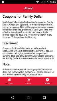 Coupons for Family Dollar screenshot 3