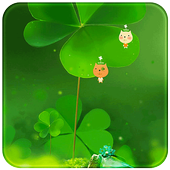 Green Nature Clover icon