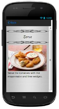 Fried Tomatoes with Mayonnaise apk screenshot