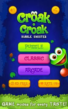Froggy - Bubble Game screenshot 1