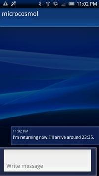 ReturnToMessenger apk screenshot