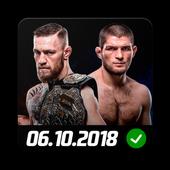 Khabib Nurmagomedov vs Conor McGregor: UFC 229 icon