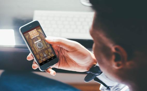 Finger Door Lock Screen Prank apk screenshot