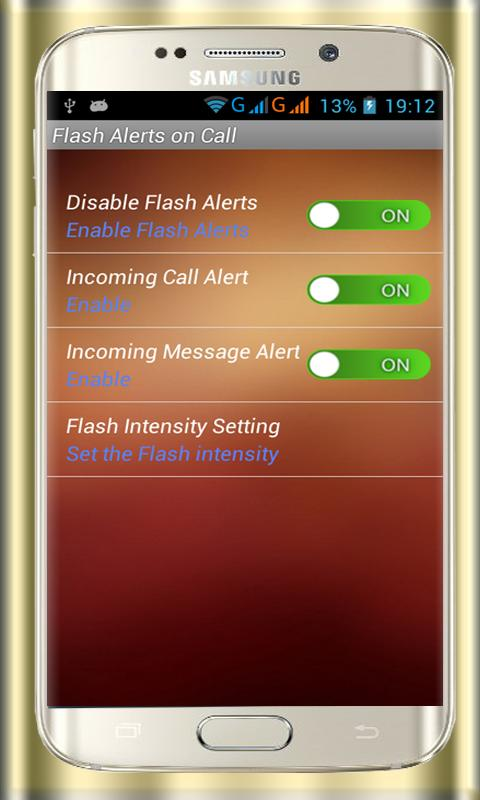 Flash Alerts On Call & SMS for Android - APK Download