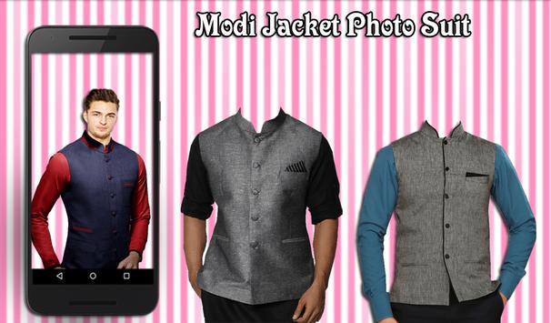 Modi Jacket Photo Suit apk screenshot