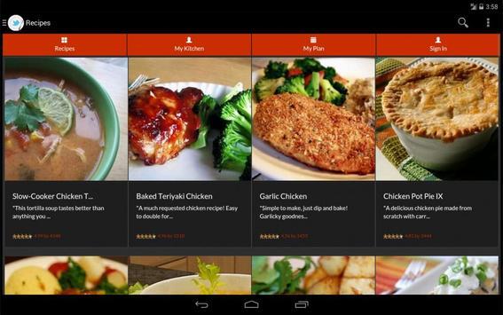 Healthy Food Recipe screenshot 9