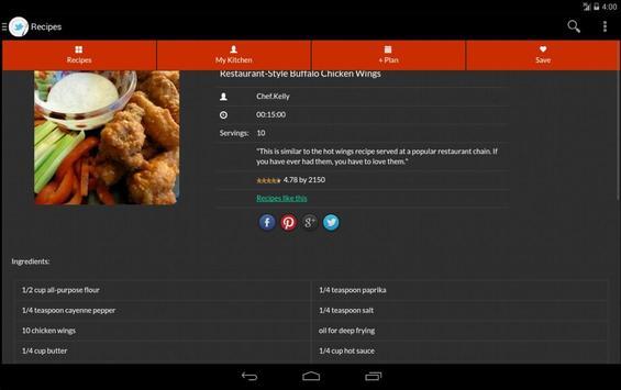 Healthy Food Recipe screenshot 16