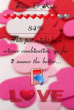 Love calculator screenshot 2