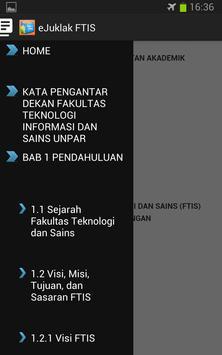 Juklak FTIS UNPAR 2014 screenshot 1